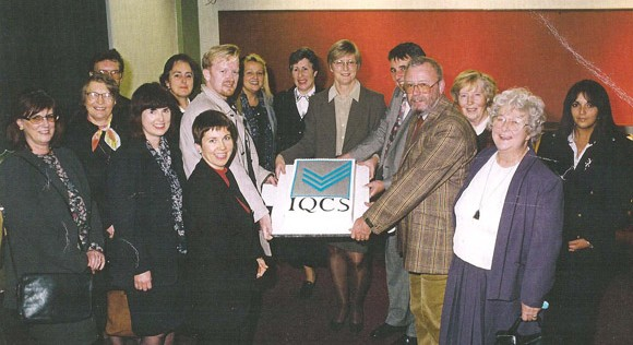 Former council celebrating IQCS' 10th Anniversary! That was in 1996!